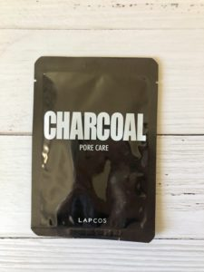 lapcos daily skin mask charcoal