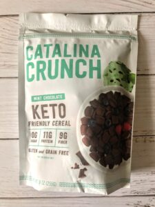 catalina crunch mint chocolate cereal review