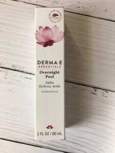 derma e overnight peel review