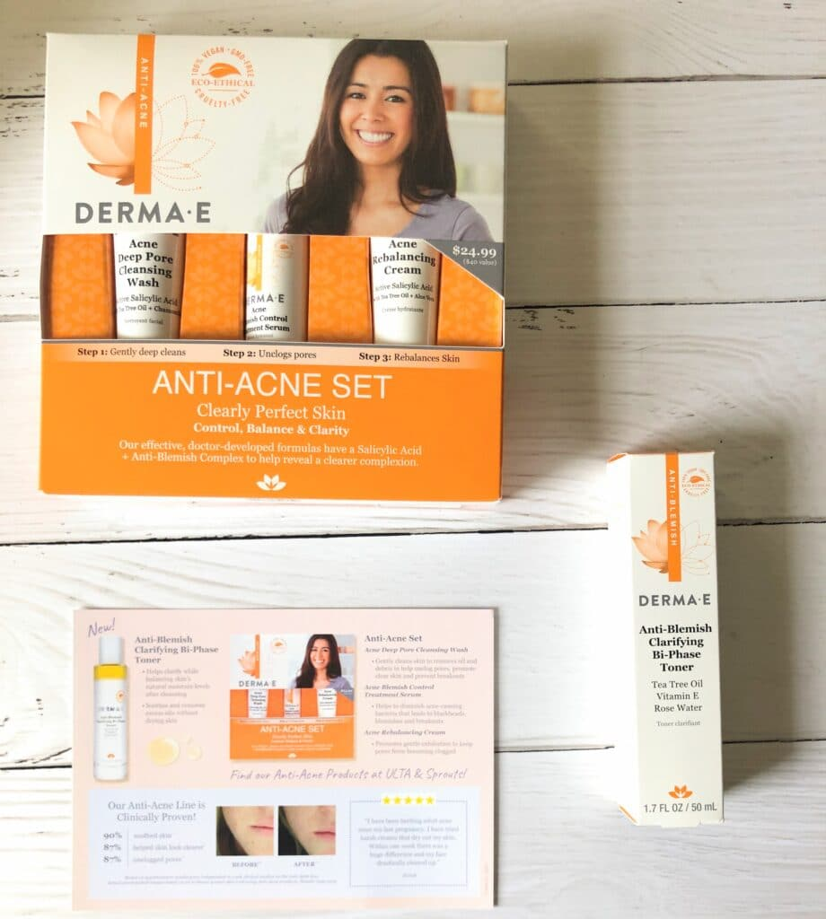 derma e acne range review