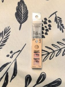 l'oreal true match eye cream in a concealer review