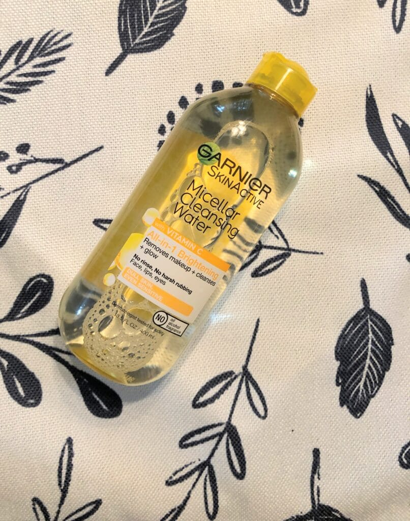 garnier skinactive micellar cleansing water review