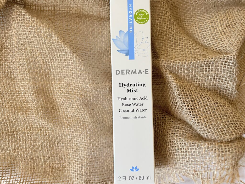 derma e hydrating mist review